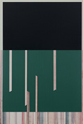 Re:Strpscreen, 2014 - 2016<br>Acrylic on canvas, 122 &#215; 81cm